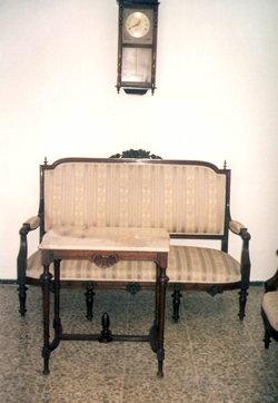 Venta de antiguedades - Muebles Caoba del Siglo XIX